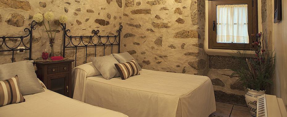 Habitación doble - Casa la Antigua Tahona de Candelario